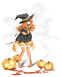orange happy halloween by urusai baka on deviantart
