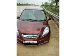 honda amaze used car in delhi used honda amaze s mt diesel 2014 in delhi 2935421 cartrade