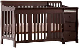 Stork Craft 4 In 1 Convertible Crib Stork Craft Portofino 4 In 1 Convertible Crib And Changer Review