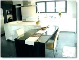 cuisine avec ilot table table ilot central table ilot cuisine centrale 5 cuisine moderne