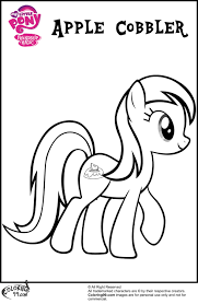 mlp apple family coloring pages minister coloring
