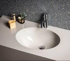 Bathroom Undermount UDesign Sinks EuroStone Italian Quartz - Quartz bathroom countertops with sinks