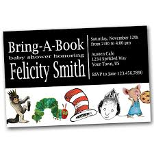 Baby Shower Invitation Wording Bring Books Instead Of Card Baby Shower Invitations Elegant Bring A Book Baby Shower
