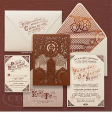 steampunk wedding invitations reduxsquad com