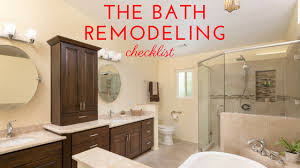 Bathroom Renovation Checklist by Bathroom Remodel Checklist To Get Started Remodel Works