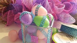 bling wrap easter egg decor dollar tree crafts youtube