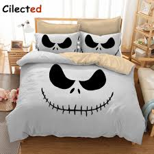 cilected 3d nightmare before bedding set sanding bedding