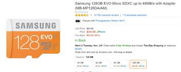 best black friday micro sd card deals updated lower prices deal alert amazon has its best ever prices