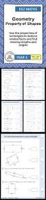 Area Of Compound Shapes Worksheet Best 20 Properties Of Rectangle Ideas On Pinterest Rectangle