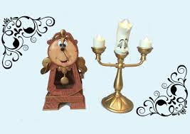 cogsworth clock review beauty and the beast collectibles youtube