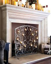 fireplace lively candle holders fireplace for home design