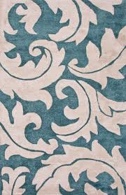 Teal And Gray Area Rug by Jaipur Blue Aloha Blue White Bl133 Area Rug Free Shipping