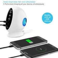 review usb charger jelly comb usb quick charger 5 port usb