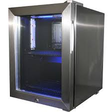 mini glass door fridge mini glass door bar fridge all stainless steel with lock and small