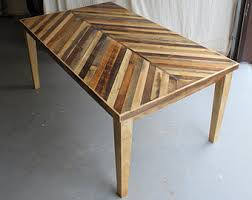how to taper 4x4 table legs reclaimed pallet and barn wood dining table with tapered wooden legs
