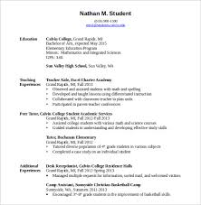 Teacher Resume Examples 2013 by Elementary Teacher Resume Large Fullsize Related Samples To