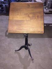 Adjustable Drafting Table Hardware Vintage Drafting Table Ebay