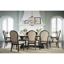 trestle base dining table coaster westbrook casual dining table rustic two tone ideas