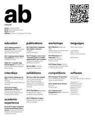 Architect Sample Resume by The Top Architecture Résumé Cv Designs Archdaily