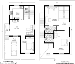 homely design duplex house plans for 20x40 site east facing 12 20