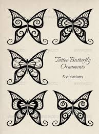 butterfly ornaments by nelchee graphicriver