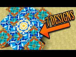 cool designs minecraft 7 cool designs w new terracotta blocks