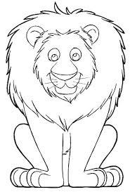 lion coloring kids lion coloring kids lion kids 14873