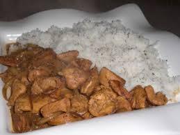 cuisine guyanaise fricassée de dinde et poulet à la guyanaise recette ptitchef