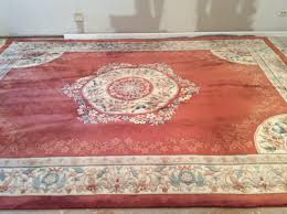 Ebay Antique Persian Rugs by Vintage Hand Knotted Chinese Rug French Aubusson Style 9x12