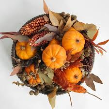 thanksgiving bowl plant ornamental squash pumpkin arrangement
