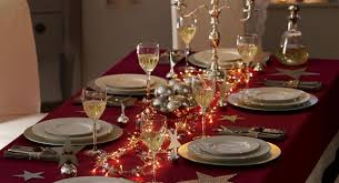 Christmas Table Decoration Ideas Silver by Ideas To Decorate Your Christmas Dinner Table Eat Food