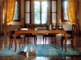 tavoli sala pranzo tavolo allungabile in legno con gambe intarsiate idfdesign