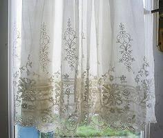 Battenburg Lace Curtains Panels 3 Battenburg Lace Curtain Panels All White Cotton Net W Lace