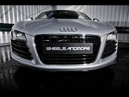 Audi R8 Front - 2009 wheelsandmore audi r8 front 1024x768 wallpaper