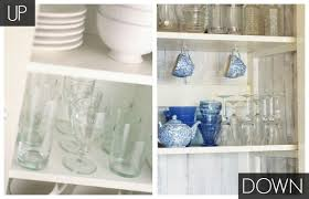 where to put glasses in kitchen without cabinets right way to store glasses storing glasses up or