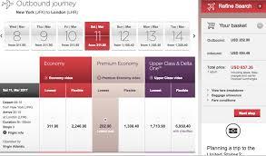 virgin baggage fee good deal in virgin atlantic premium economy to london mommy points