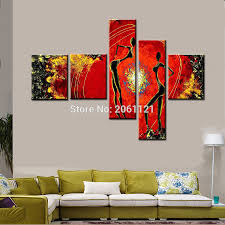 online buy wholesale multi panel canvas wall art from china multi