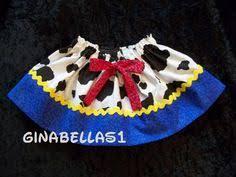 custom western wear jessie toy story skirt titasboutique