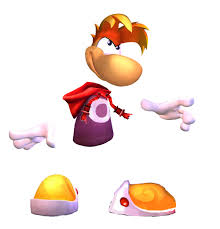 rayman 2 the great escape concept art model sheets for drawing