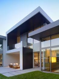 Architecture Minimalist House Design Exterior With Glass Wall And