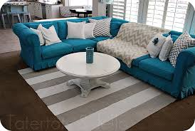 Slipcovered Sectional Sofas Awesome Slipcovers For Sectional Couches Homesfeed