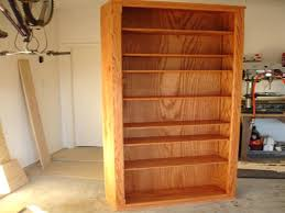 build bookcase with kitchen cabinets half wall a custom