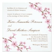 cherry blossom wedding invitations cherry blossom wedding invitations announcements zazzle au