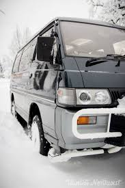 mitsubishi van 1991 mitsubishi delica star wagon l300 4wd automatic turbo