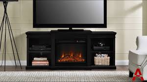 manchester electric fireplace tv stand youtube