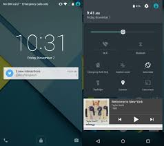 android lock screen notifications android chases perfection with the nexus 6 and lollipop