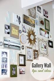 how to do a gallery wall i love the different picture frames and their arrangements for