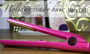 black friday chi straightener get holiday ready hair with the ultra chi flat iron tutorial