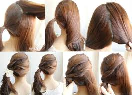 step by step hairstyles for long hair with bangs and curls unique easy hairstyles step by step with pictures easy step by