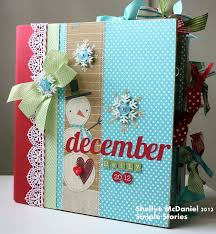 Small Scrapbook Album 56 Best December Daily Albums Images On Pinterest December Daily